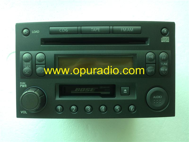 Nissan 28188 Cd401 Cassette Cd Player Clarion Pp