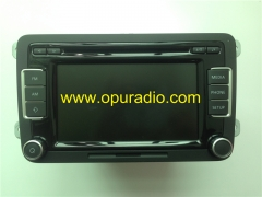 VW Radio RCD510 5K0 035 190 Made in Portugal Bosch 6 CD changer Phone tuner for Skoda GTI Golf Jetta EOS Passat Tiguan Polo car Stereo audio