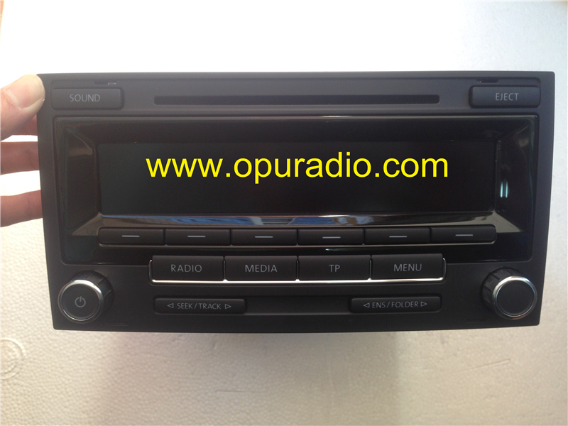 vw radio low dab mp3 for t5 multivan touareg 7h0 035 186d. Black Bedroom Furniture Sets. Home Design Ideas