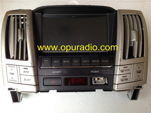 TOYOTA 86110-48110 LCD display completed monitor for Lexus RX330 RX-400H Fujitsu ten 134000-38300101 car radio