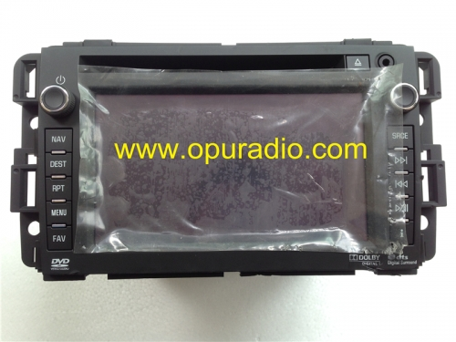 GM 22815130 DENSO HDD NAV SATELLITE RADIO US CANADA ver. for GM Chevrolet Silverado 1500 Hybrid Suburban car navigation audio satellite radio sound sy