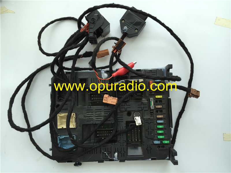 wiring harness cables with canbus for all kinds of 2015-2019 peugeot  citroen ds car cd dvd player navigation magneti marelli map bluetooth phone