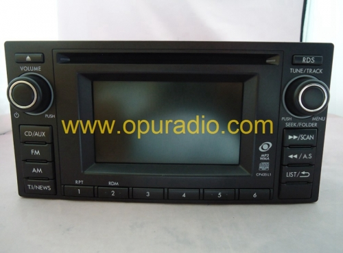 SUBARU 86201SC430 Clarion CD player PF-3304B-A for 2012 Forester OEM car radio WMA MP3 USB Bluetooth Tuner