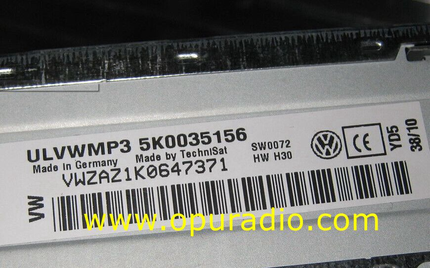 Unlock Decode Service for Volkswagen Car Radio RCD300 RCD310 RCD510 RCD500  RCD200 RCD210 Gamma