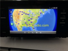 TOYOTA PZ360-60119 Radio Receiver Navigation CARMAX MAP Phone Bluetooth USB WIFI Media car GPS Prado Land Crusier 2018 up