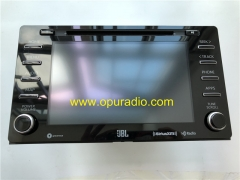 Panasonic 86140-08090 for 2018 up TOYOTA Sienna MAP Audio HD Radio APPS SiriusXM Phone Traffic Weather With JBL