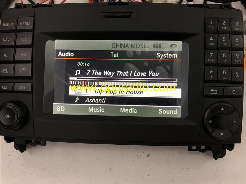 Ry2540 Alpine Radio For Mercedes Benz