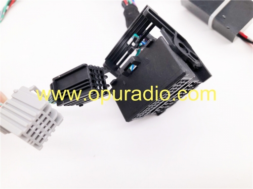 wiring tester harness power on bench 2013-2015 OPEL VAUXHALL ASTRA J CD400 RADIO UNIT MK6 MERIVA  CD400 PLUS ZAFIRA
