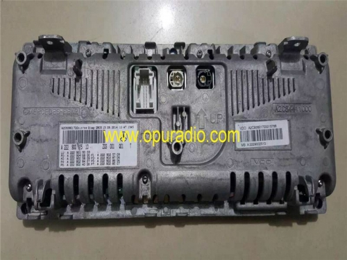 MB A222902510 A222902410 Display unit for Mercedes-Benz S class S500 S350 S600 W222 sound system car Navigaiton radio VDO A2C93801700