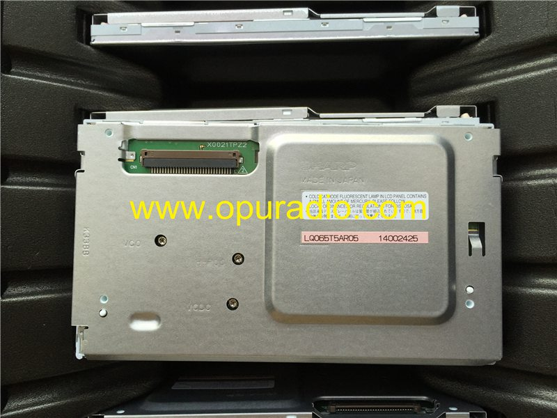 Sharp 6.5inch screen LCD display module LQ065T5AR05 for Subaru Mazda Mercedes E280 300 BMW