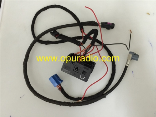 Wiring Harness for Mercedes Benz NTG4.5 NTG4.7 Navigation Power on Bench
