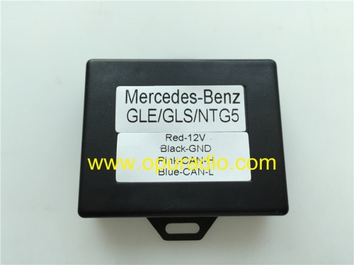 Decoder Emulator for 2015-2017 Mercedes Benz GLE GLS GLA CLA CLS NTG5.1 NTG5.1S Car audio Navigation