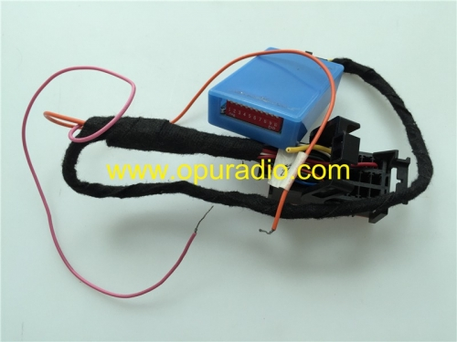 power on VP3 VP4 RA3 RA4 NA on the Bench for testing Chrysler Dodge RAM 1500 2500 3500 Jeep Grand Cherokee Uconnect and VP4R New style Maserati