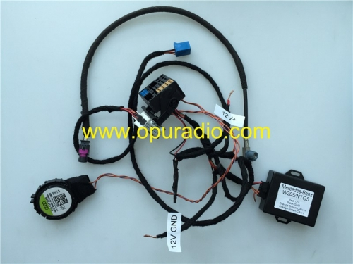 Wiring Harness Cables with decoder for 2015-2017 Mercedes W205 C class C220 C300 C400 C450 C63 ENTRY CD 205 ECE USA power on bench