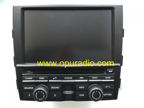 PCM3.1 RADIO Head Unit for Porsche 911 991 981 Boxter Cayenne Naviation GPS 6 CD DVD Changer AUX MP3 Phone Bluetooth USA Canada MAP HDD 100GB XM Satel