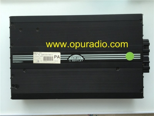 3W0-035-466 High Audio Amplifier naim for BENTLEY Continental GT Flying Spur 4W0-035-466