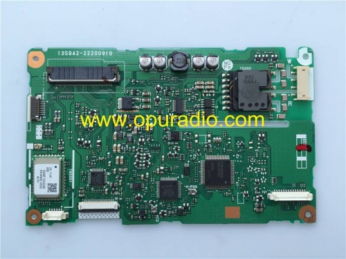 135942-22200910 Printed Circuit board power PCB for display monitor Screen problem for 2010-2011 Toyota Prius 86120-47390 DENSO JBL Radio E7022