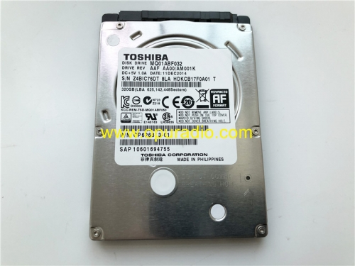 TOSHIBA MQ01ABF032 320GB DISK DRIVE for Mercedes W222 S-Class W213 E-Class BMW NBT EVO Head Unit Harman