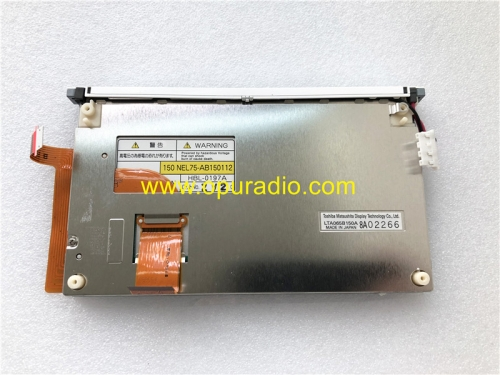 LTA065B150A Display With Touch Screen Digitizer for TOYOTA Voice Navigation Car Radio Media Audio CD Player