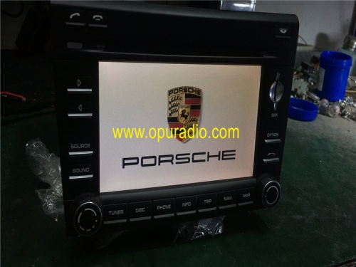 PORSCHE 911 997 997.2 BOXSTER CAYMAN NAVIGATION GPS PCM3 HEAD UNIT Harman Becker STEREO RADIO
