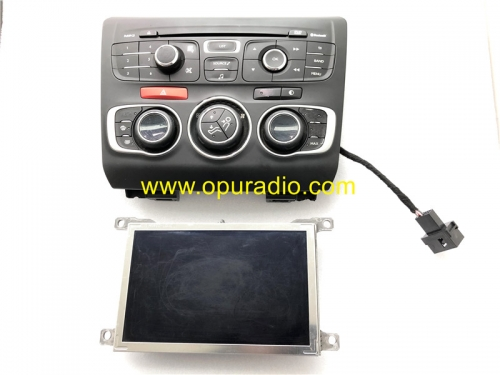 Display with Faceplate volume control for Test Citroen DS3 DS4 DS5 car navigation