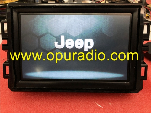 Fiat 500X 334 7in VP2 EMEA DAB Uconnect Fiat 312 520 18-19 Jeep Grand Cherokee Continental VP2R Renagade tester