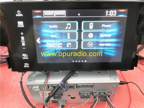 Wiring Tester for 2016-2018 Honda Civic Navigation Display Touch screen radio power on Bench