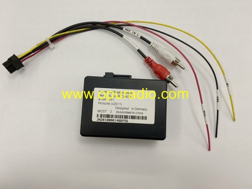 Wiring Emulator Fiber Optic Power Amplifier for Porsche Cayanne Cayman Benz ML GL R Class W164 W251 Car Head unit Boxter